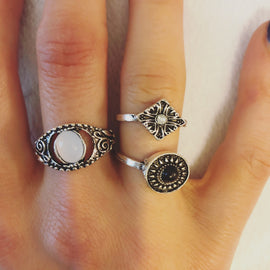 Wild Child ring set