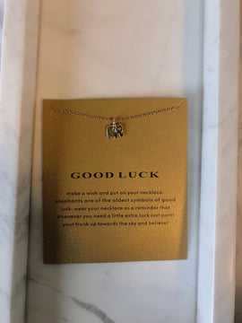 Good Luck Wish Card