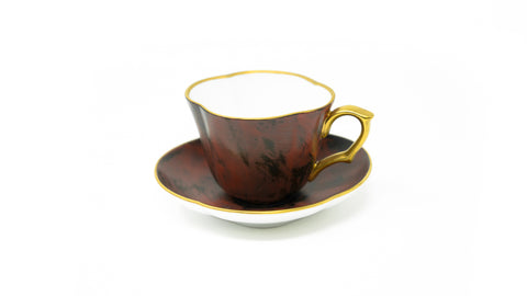 "Hataman Coffee Cup ""Cuir"" Design"