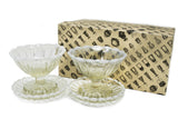 Glass Bowl and Tray Set Kodailro
