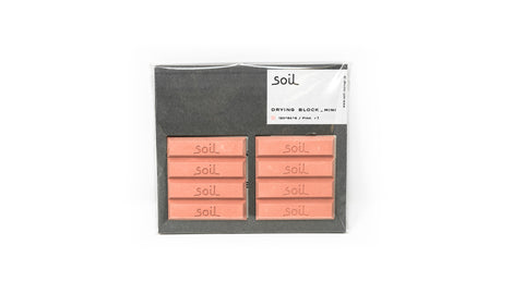 Soil Drying Block Mini (Pink)