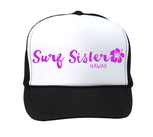 SURF SISTER TRUCKER HAT