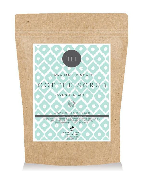 TRAVEL SIZE COFFEE SCRUB LAVENDER MINT