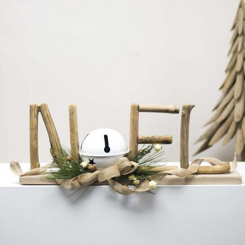 Noel Driftwood Sign