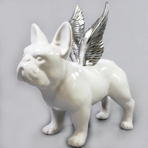 Frenchie with Wings
