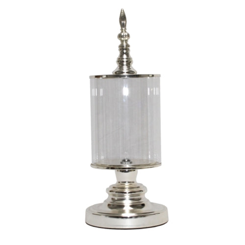 Silver Base Candle Holder