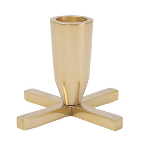 Golden Cross Candleholder