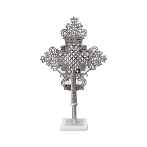 Silver Antique Cross