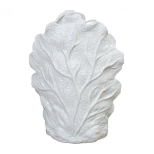 White Seaweed Detailed Vase