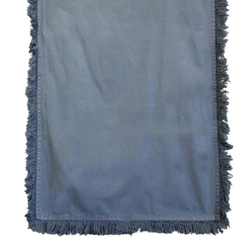 Charcoal Fringed Table Runner