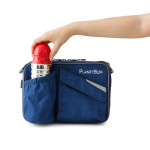 PlanetBox Capsule Drink Bottle - Starry Blue