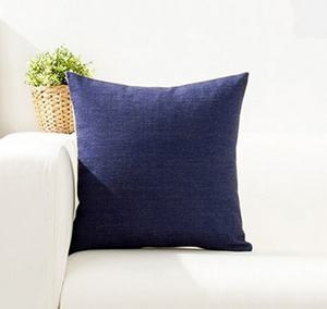 Navy Cushion Cover