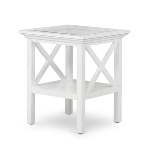 Hamptons White Side Table