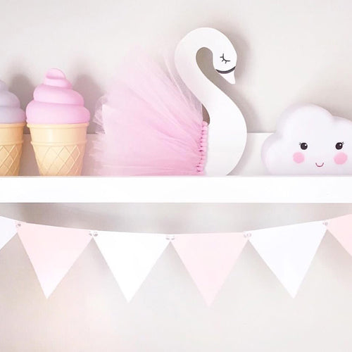 Wooden Swan Decor