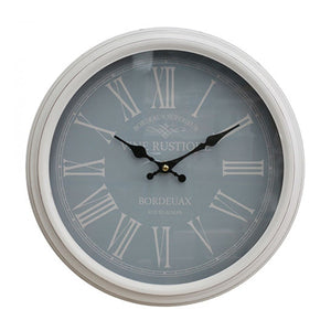White Duck Egg Clock