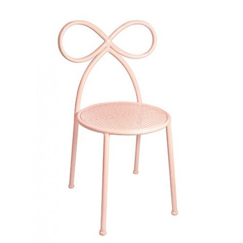 Kids Metal Bow Back Chair