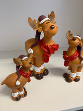 Reindeer with Scarf and Hat