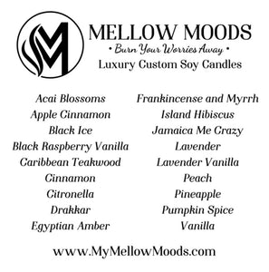 Mellow Moods Candles  12 oz