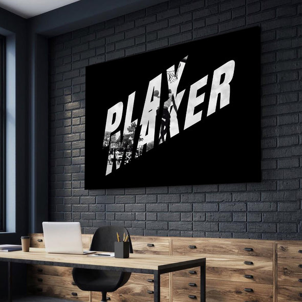 "Playmaker ""Action"" Canvas"