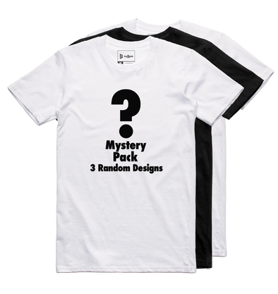 Mystery Pack! (3 Tees)