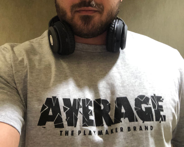 "Allergic To Average ""Sweat Activated"" Tee"