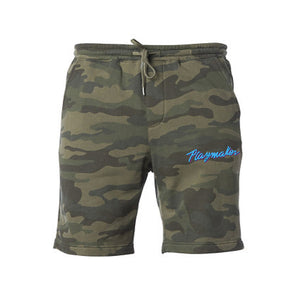 Playmaker Vice Forest Camo - Fleece Shorts
