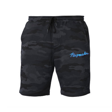Playmaker Vice Black Camo - Fleece Shorts