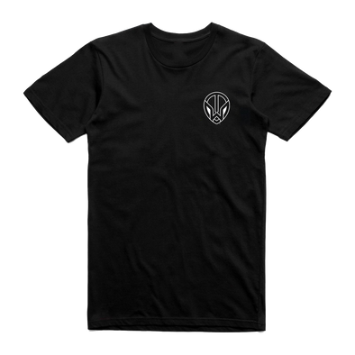 TW Pocket Logo - Black T-Shirt