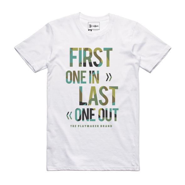 First One In, Last One Out Tee (2 Colors)