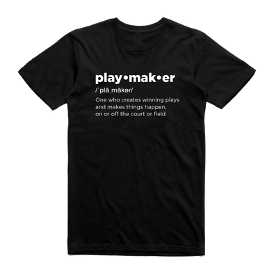 "Playmaker ""Definition"" Tee"
