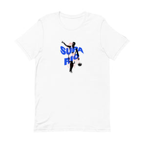 Supa Blue Mario - White T-Shirt