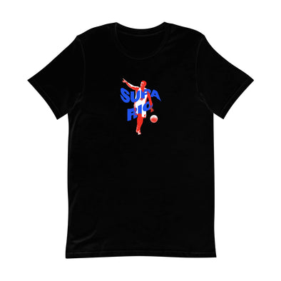 Supa Mario - Black T-Shirt