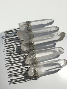 Ice Crystal Comb
