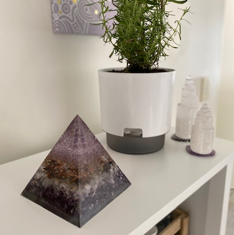 Serenity Spell - Powerful Orgonite Pyramid