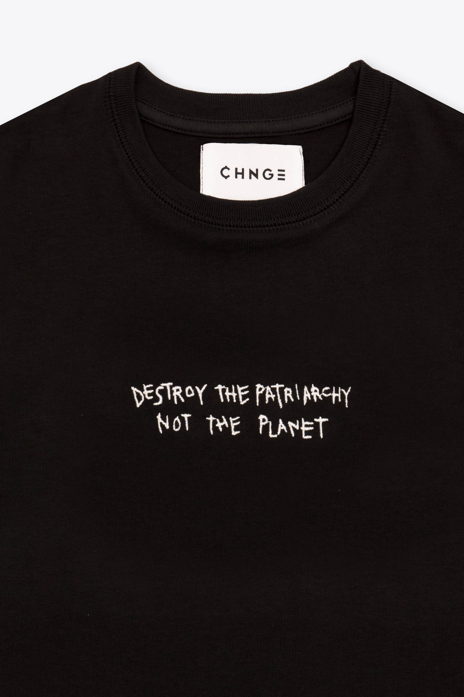 CHNGE Kids Destroy The Patriarchy Tee