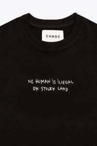 CHNGE Kids No Human is illegal Tee