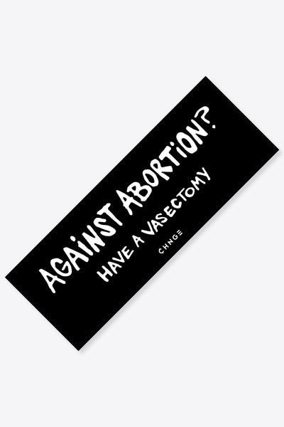 Against Abortion Sticker