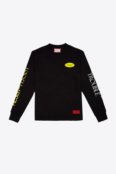 Good Trouble  L/S T-Shirt (Black)