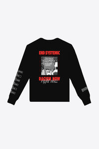 Anti-Racism Long Sleeve (Black)