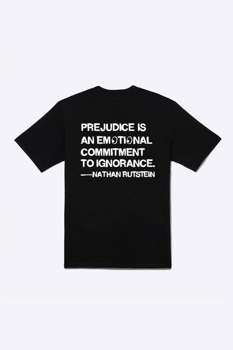 Prejudice = Ignorance (Black)