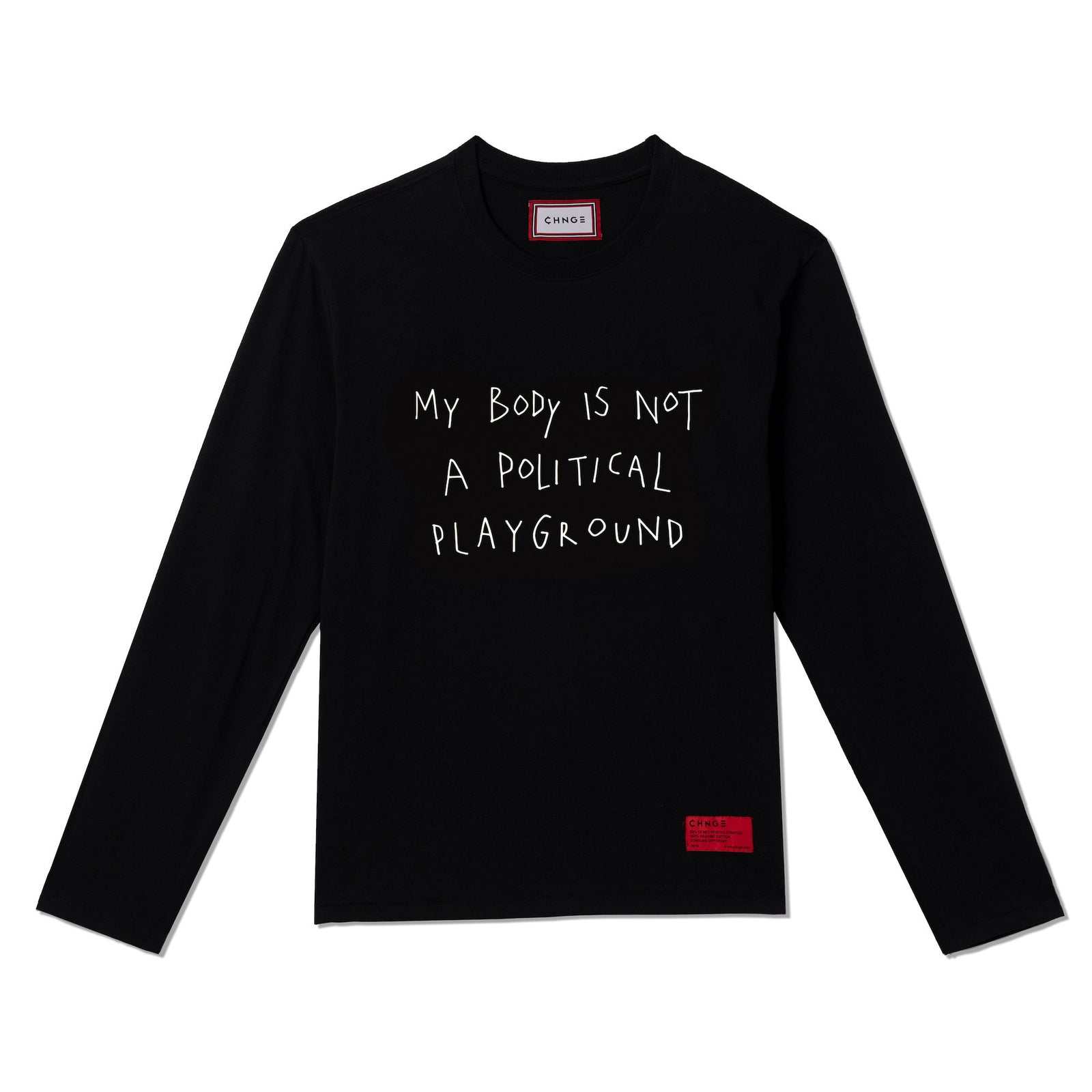 Political Playground Long Sleeve (Black)