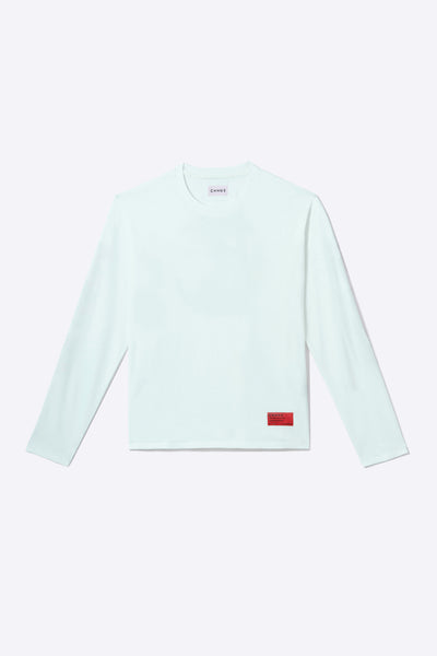 Mint Organic Cotton Long-Sleeve