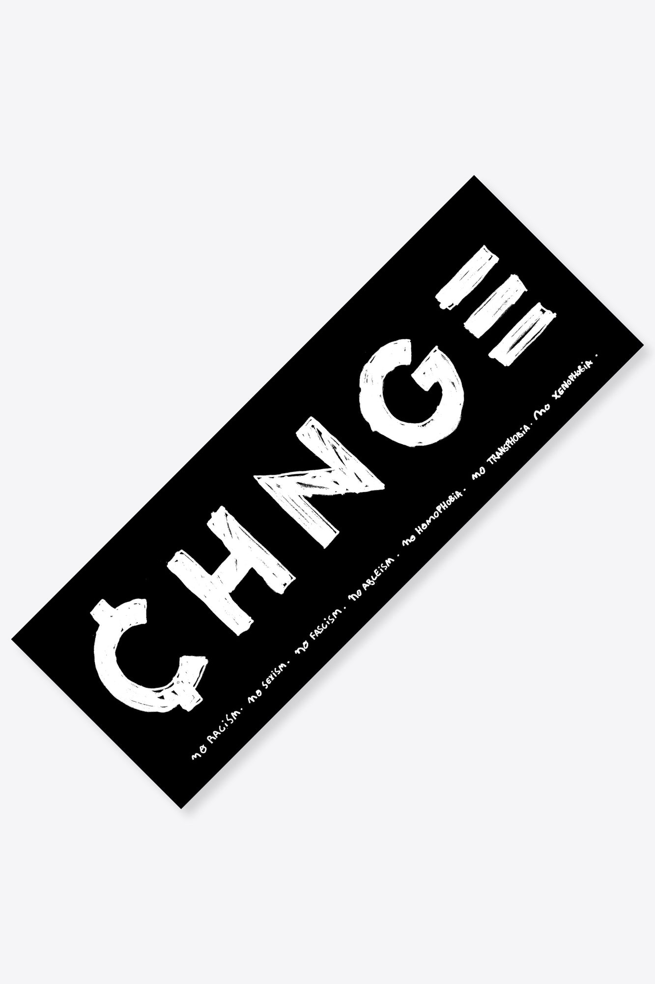 CHNGE Logo Sticker