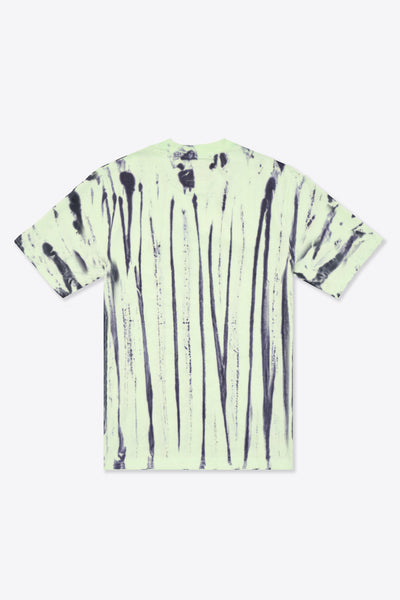 Tie Dye Butterfly Logo S/S T-Shirt (Lime/Black)