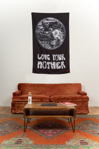 Love Your Mother Tapestry