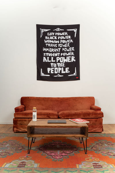 Power to the People Tapestry