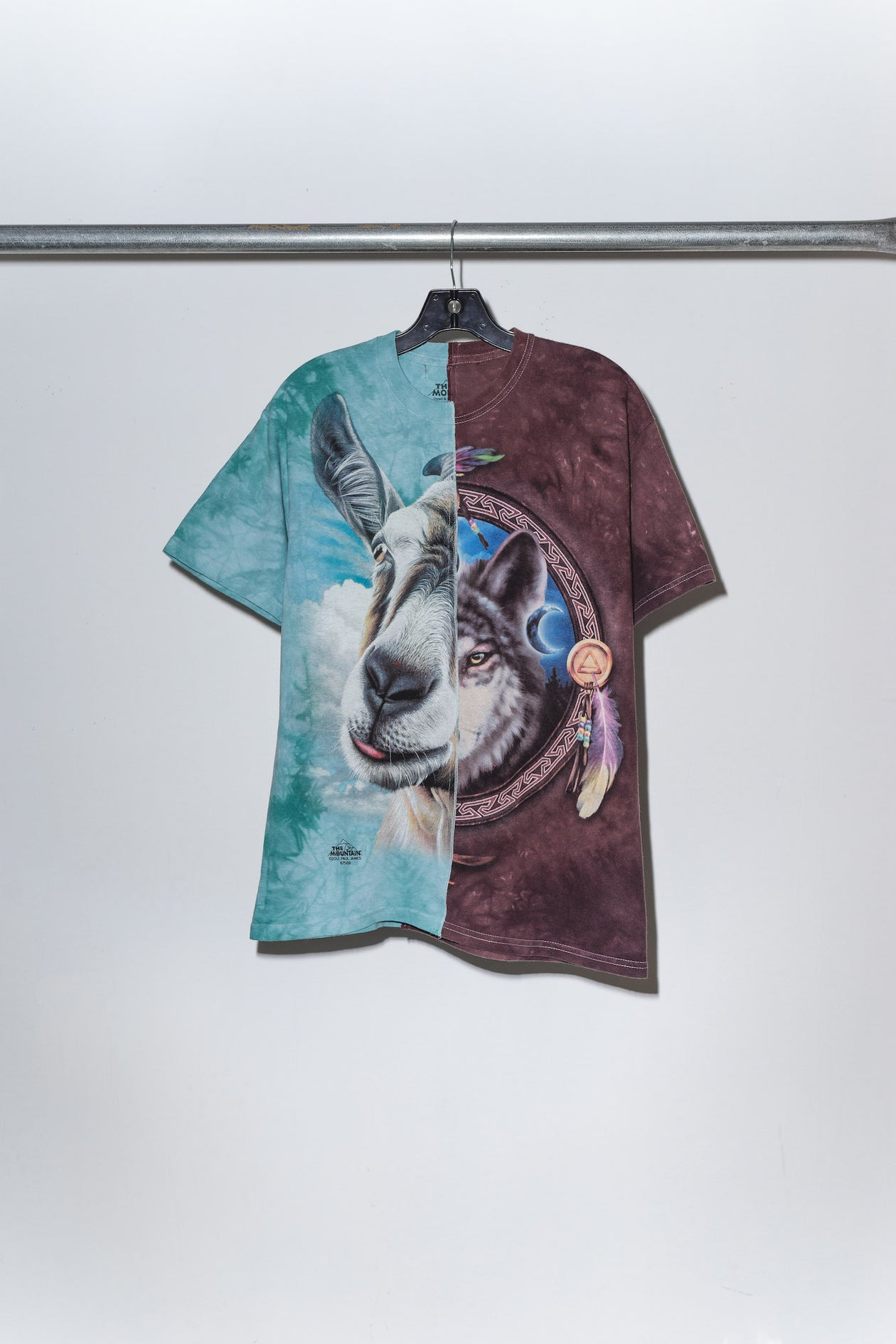 Goat & Wolf Pieced Together Tee - S
