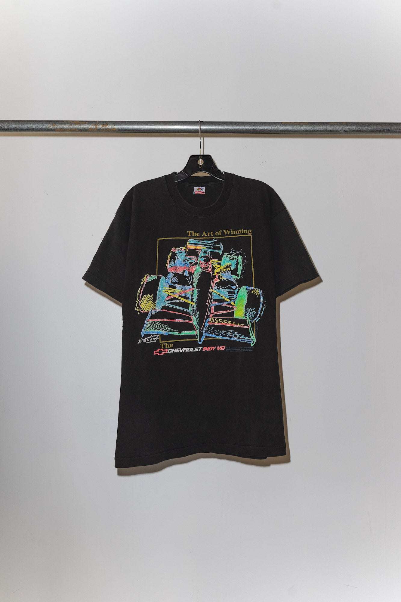 Art of Winning Indy V8 Tee - M