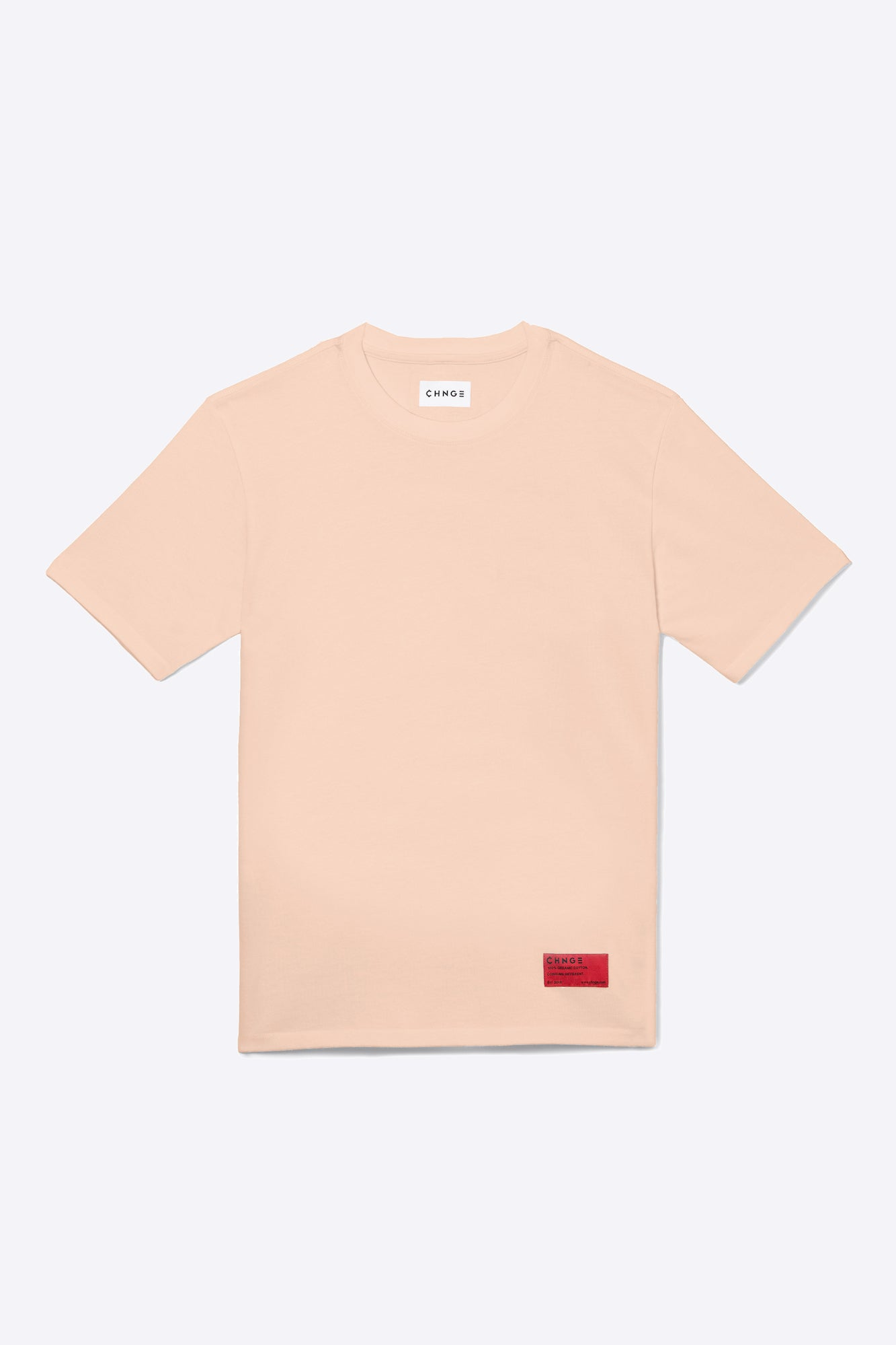 Pale Orange Organic Cotton Tee