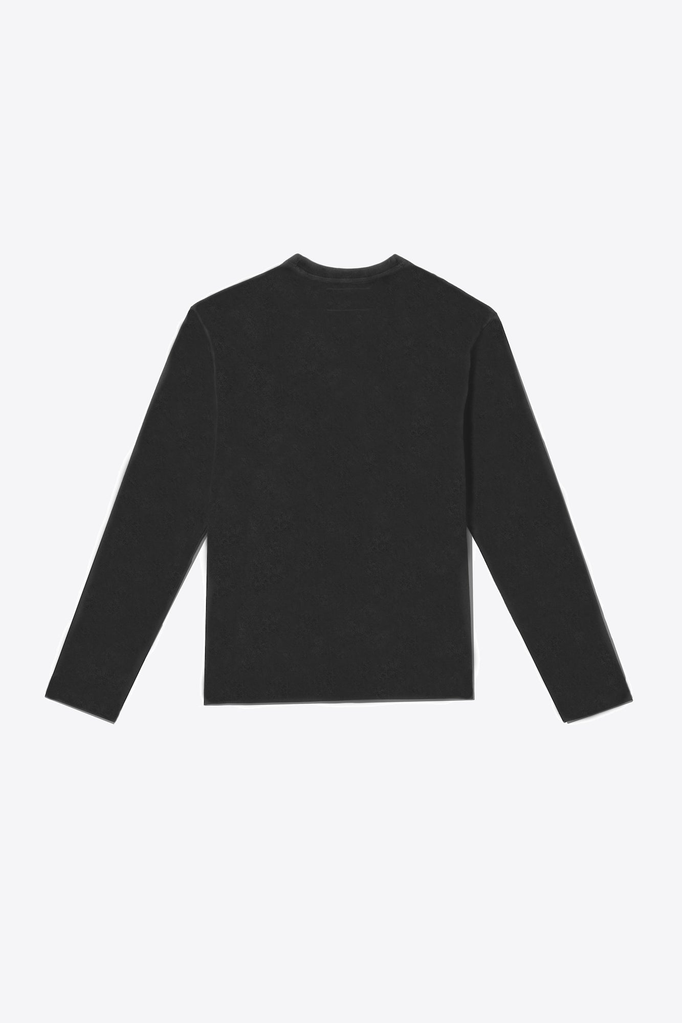 Faded Black Tonal Embroidered Long Sleeve